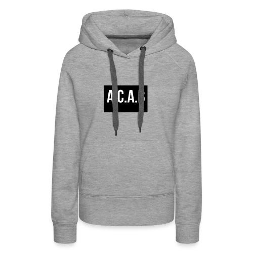 ACAB - Premiumluvtröja dam