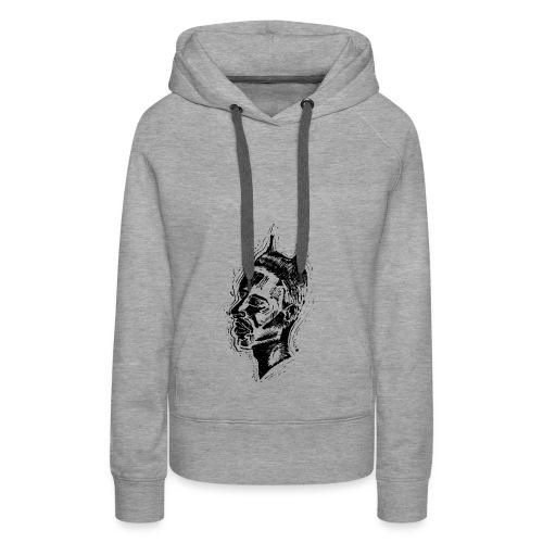 Le Diable - Sweat-shirt à capuche Premium pour femmes