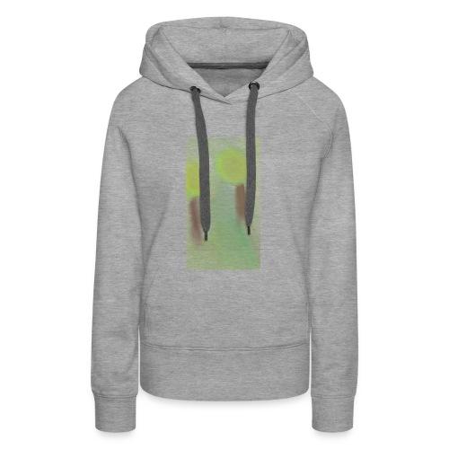 Der Verschwommene Wald - Frauen Premium Hoodie