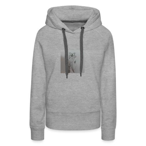 romance - Sweat-shirt à capuche Premium pour femmes