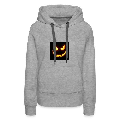 Pumpkin scary - Frauen Premium Hoodie