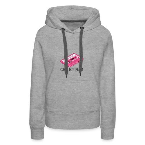 Ced & Max - Sweat-shirt à capuche Premium pour femmes