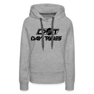 DT Logo black - Frauen Premium Hoodie