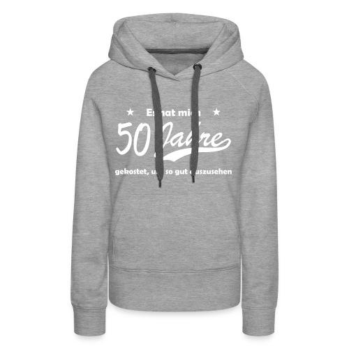 50 Jahre Erfahrung - Frauen Premium Hoodie