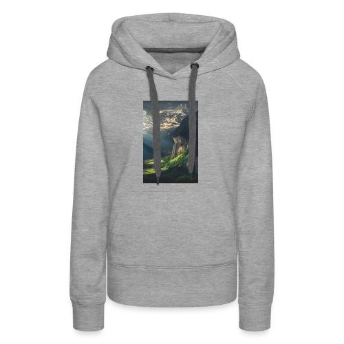 IMG 4625 - Sweat-shirt à capuche Premium pour femmes