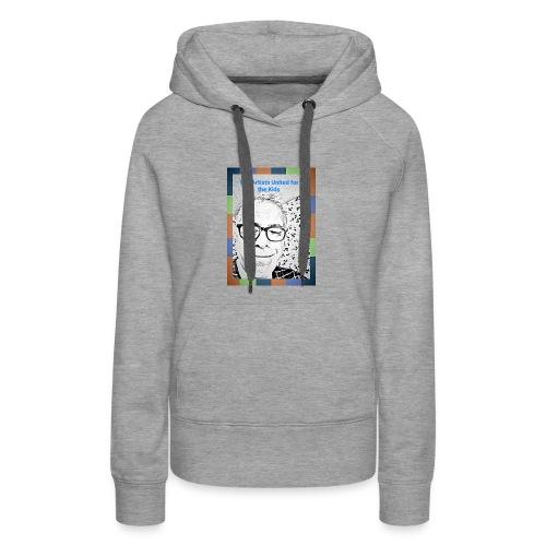Artists United for the Kids - Sweat-shirt à capuche Premium pour femmes