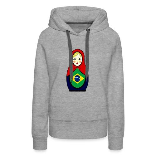 Brasilien Matrjoschka Brazil Matroschka - Frauen Premium Hoodie
