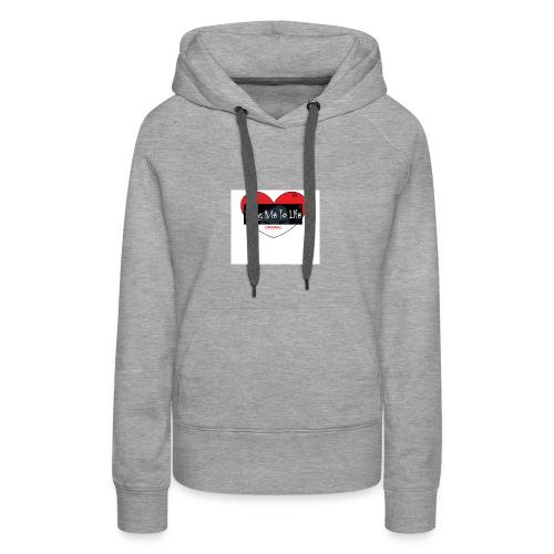 herz - Frauen Premium Hoodie
