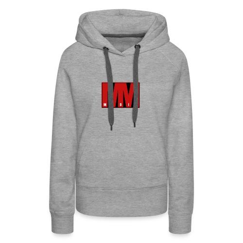 MM Media - Premiumluvtröja dam