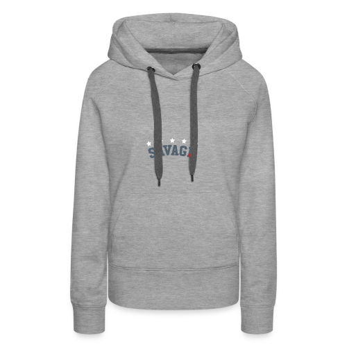 Savage Nation - Women's Premium Hoodie