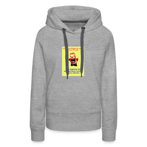 tee shirt 4 - Sweat-shirt à capuche Premium pour femmes