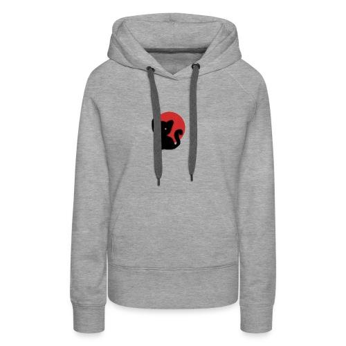 skarycat - Sweat-shirt à capuche Premium pour femmes