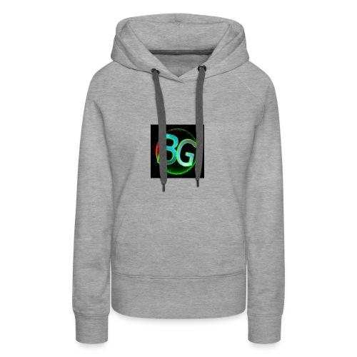 Baboe Games logo - Vrouwen Premium hoodie