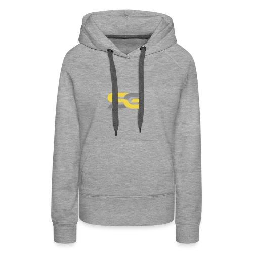 SibertGamer T-Shirt bleu - Vrouwen Premium hoodie