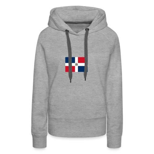 republique dominicaine - Sweat-shirt à capuche Premium pour femmes