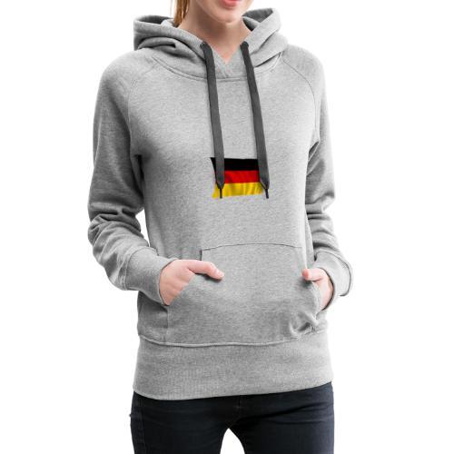Deutsche Flagge T-Shirt - Frauen Premium Hoodie