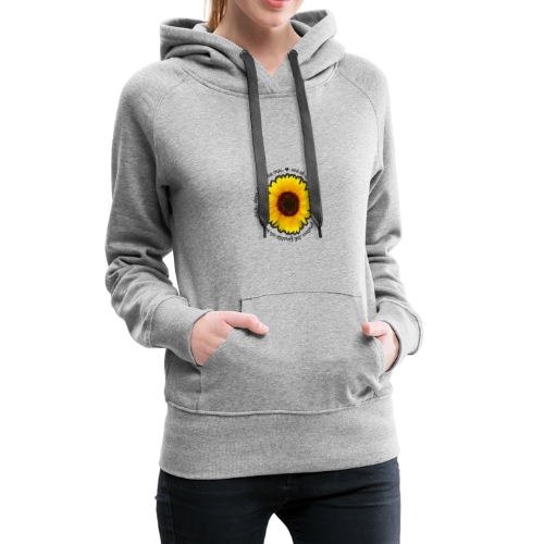 Sonnenblume - Frauen Premium Hoodie