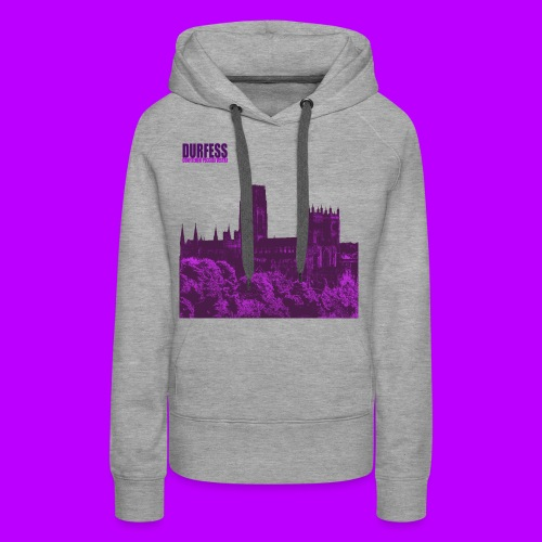 Square Durfess Logo - Cathedral Only - Women's Premium Hoodie