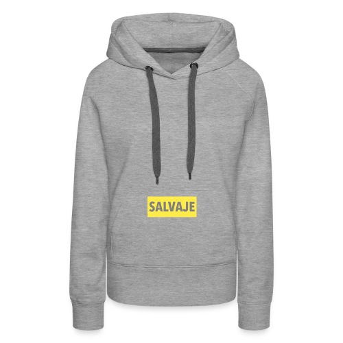 SALVAJE - Sudadera con capucha premium para mujer