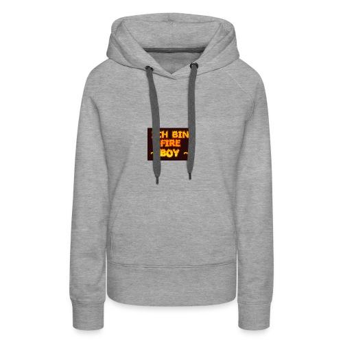 Fire Boy - Frauen Premium Hoodie