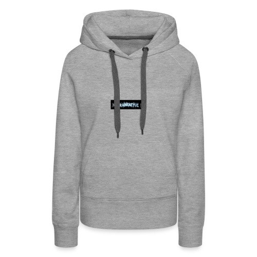 DerHardstyle.ch Kleines Logo - Frauen Premium Hoodie