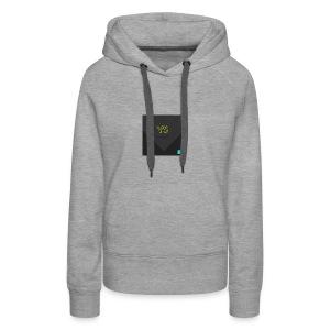 YourStyleLogo - Sweat-shirt à capuche Premium pour femmes