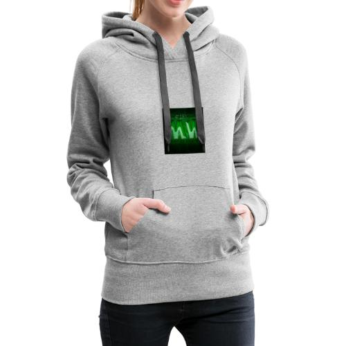 logo mysterywing - Dame Premium hættetrøje