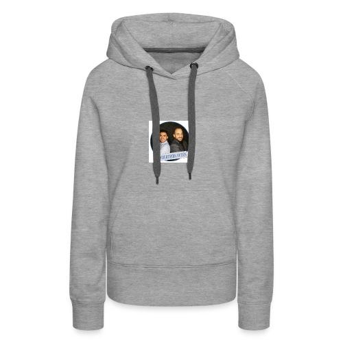Courtier Futés - Sweat-shirt à capuche Premium pour femmes