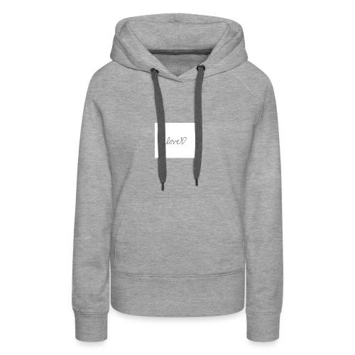 IMG 0116 - Sweat-shirt à capuche Premium pour femmes