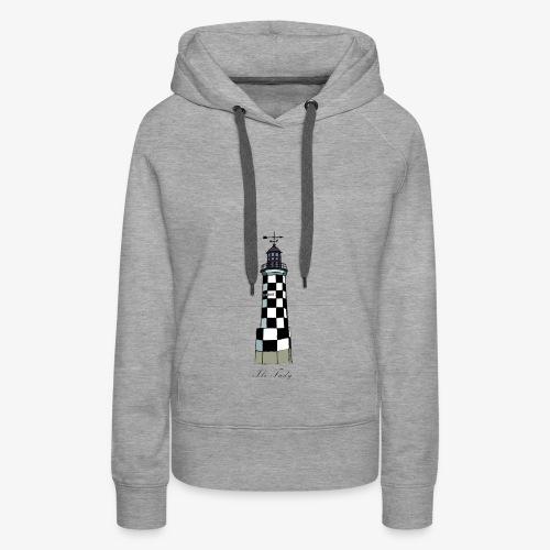 perdrix Ile-tudy - Sweat-shirt à capuche Premium pour femmes