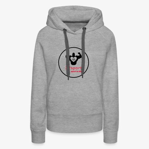 32 Sport - Sweat-shirt à capuche Premium pour femmes