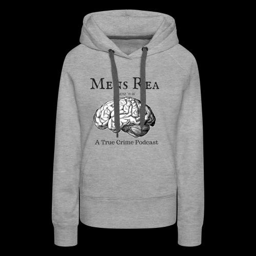 Guilty Mind Mens rea Logo - Women's Premium Hoodie
