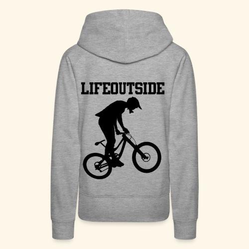 Mountainbike - Frauen Premium Hoodie