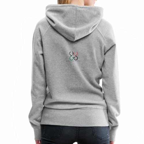 amfpvdr - Sweat-shirt à capuche Premium pour femmes