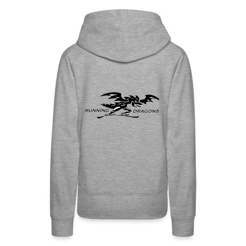 Running Dragons - Frauen Premium Hoodie