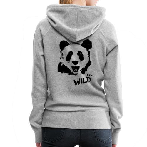 WILD PANDA - Frauen Premium Hoodie