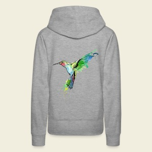 Kolibri Design - Frauen Premium Hoodie