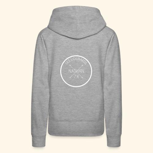 NATHAN-74 - Sweat-shirt à capuche Premium pour femmes