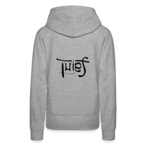 Saint/Thief Anagrama - Sudadera con capucha premium para mujer