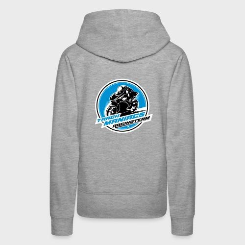 Trackmaniacs Racingteam Emblem - Frauen Premium Hoodie