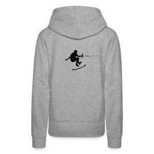 wakeskater_black - Frauen Premium Hoodie