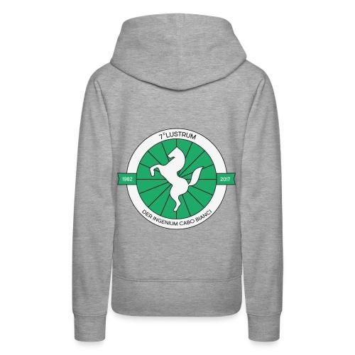 7e lustrum der Ingenium Cabo Bianc - Vrouwen Premium hoodie