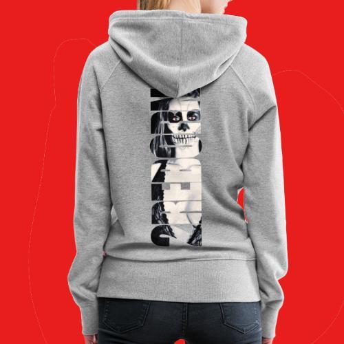 Hot sexy Fashion Pin-Up Girl Dead Zombie 2reborn - Frauen Premium Hoodie