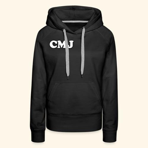 CMJ white merch - Women's Premium Hoodie