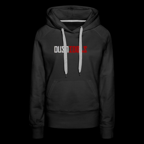 Logo DUSTIDOLS - Sudadera con capucha premium para mujer