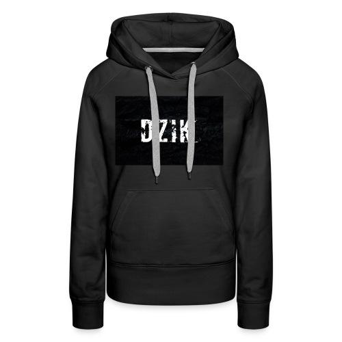 Dzik #2 - Bluza damska Premium z kapturem