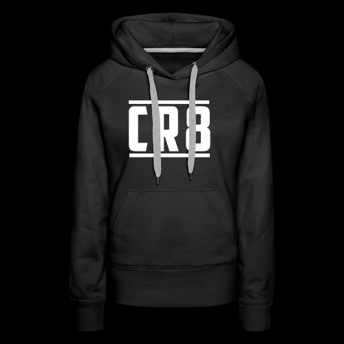 CR8 Hoodie - Black - Women's Premium Hoodie