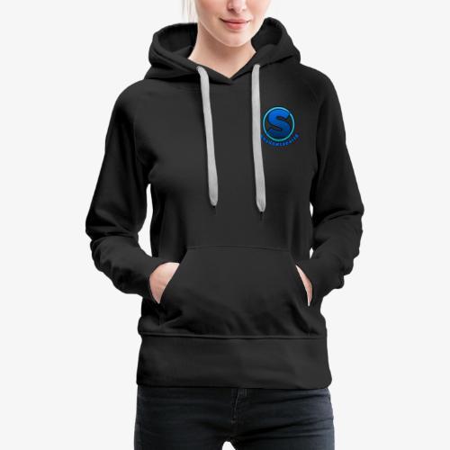Shadowspear18 Logo+Schrift - Frauen Premium Hoodie