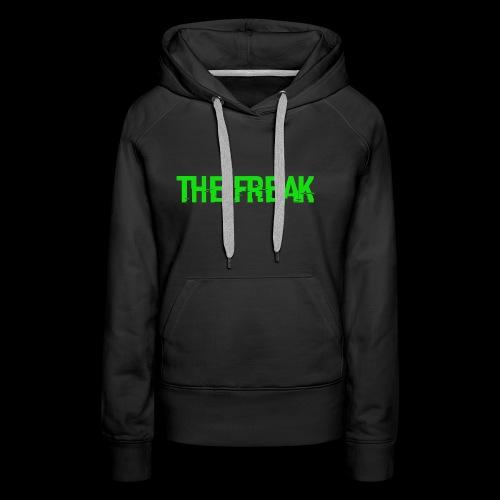 The Freak - Dame Premium hættetrøje