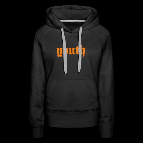 youth gothic - Bluza damska Premium z kapturem